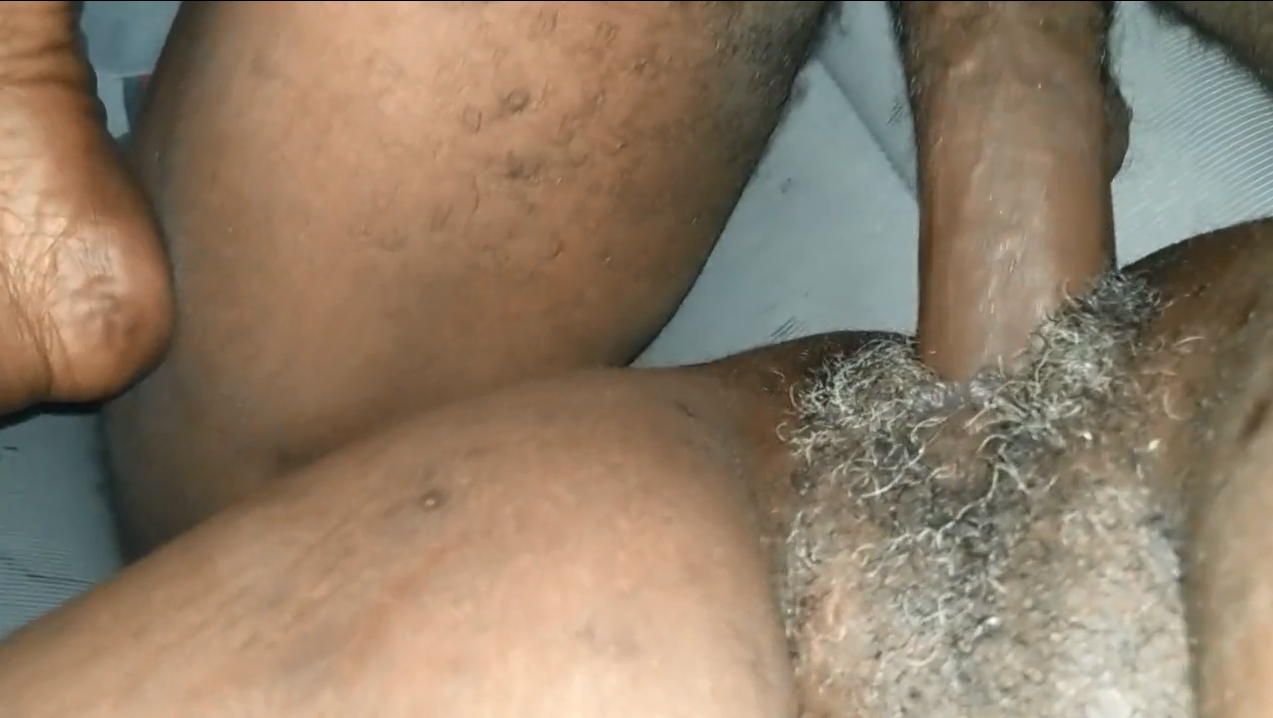 Horny kenyan granny fucked by young strong man